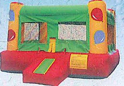 13'x13' Bounce House BALLOON