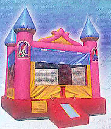 15'x15' Bounce House PRINCESS CASTLE
