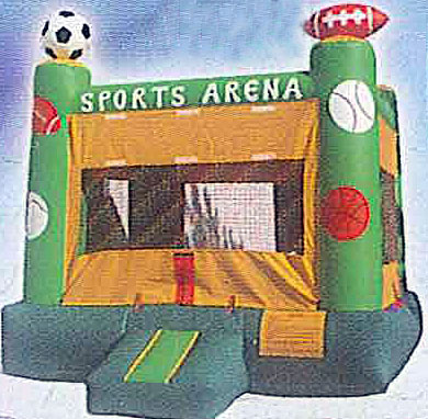 15'x15' Bounce House SPORTS
