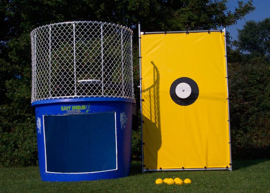 "Outdoor Dunk Tank (on trailer w/2"" ball hitch)"